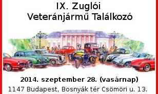 IX. Zuglói Veteránjármű Találkozó