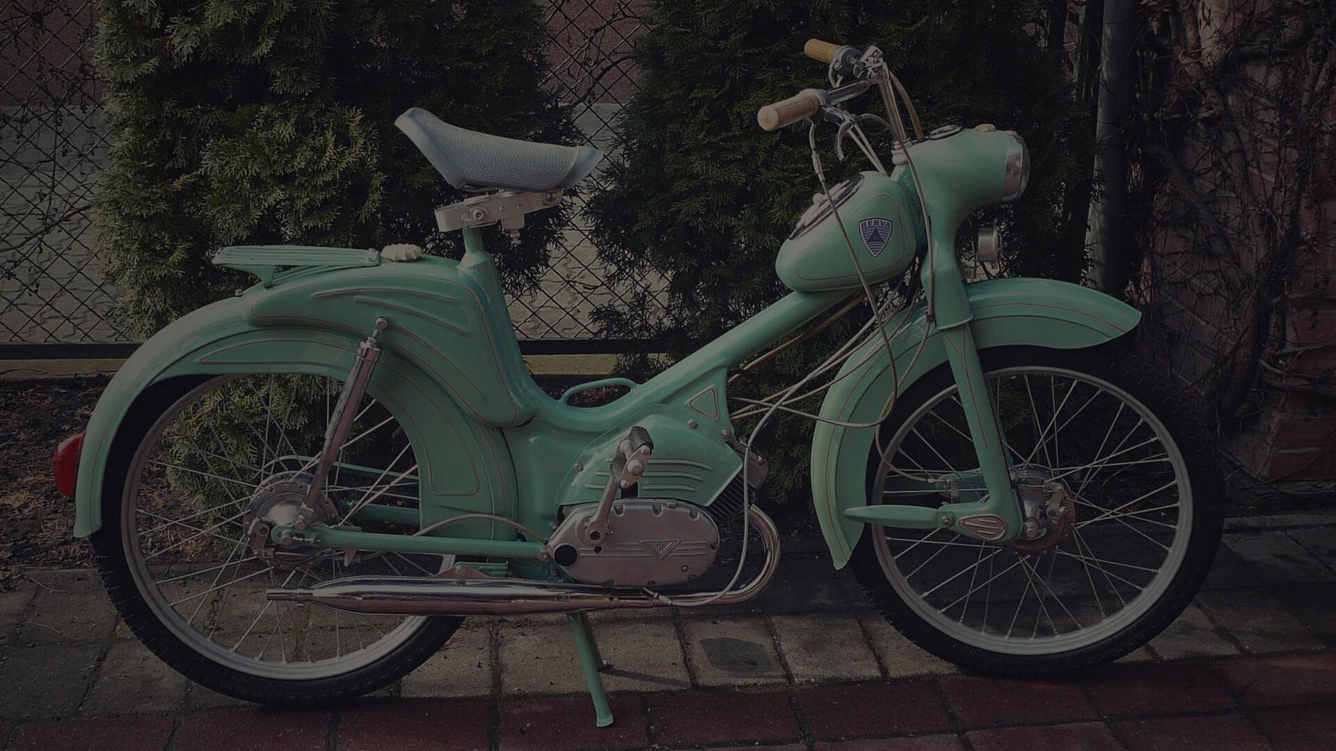 BERVA moped, 49 cc, 1961