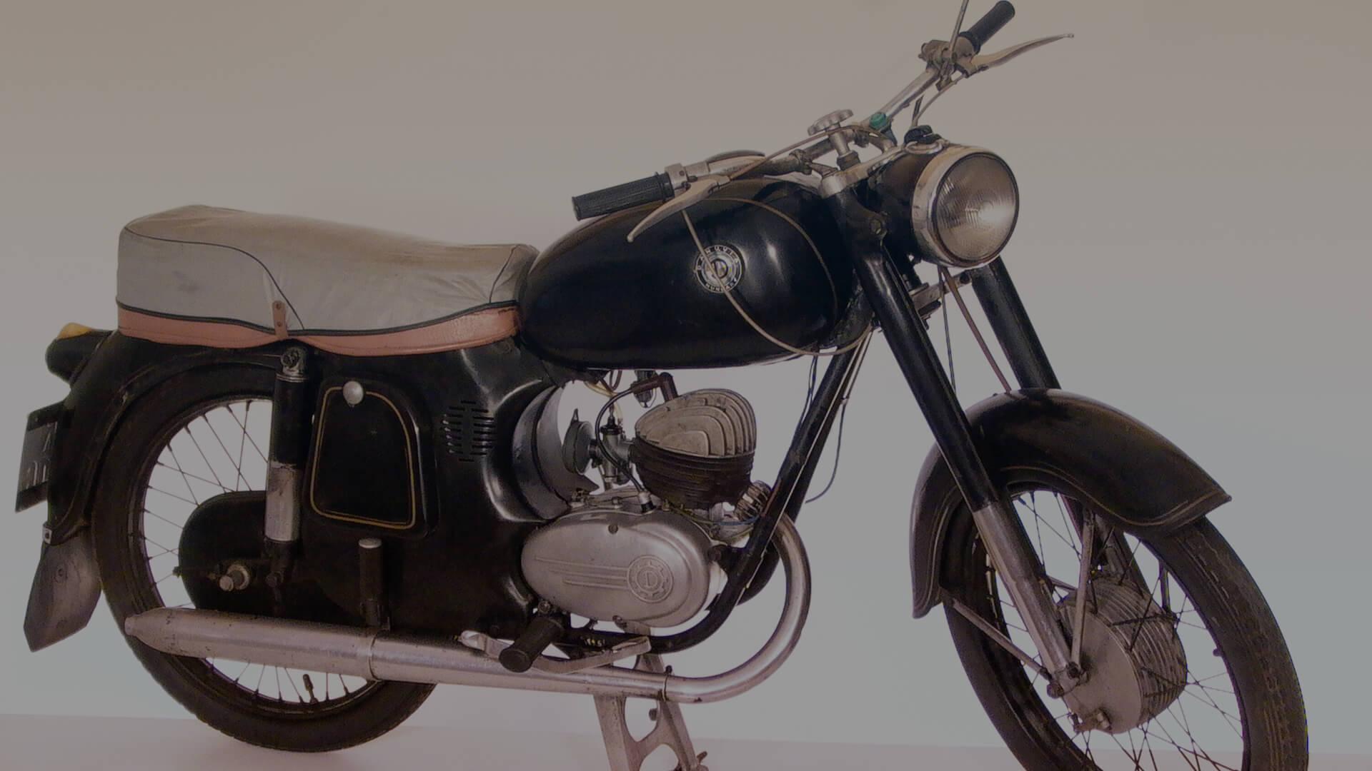 DANUVIA DV-125, 123 CC, 1959