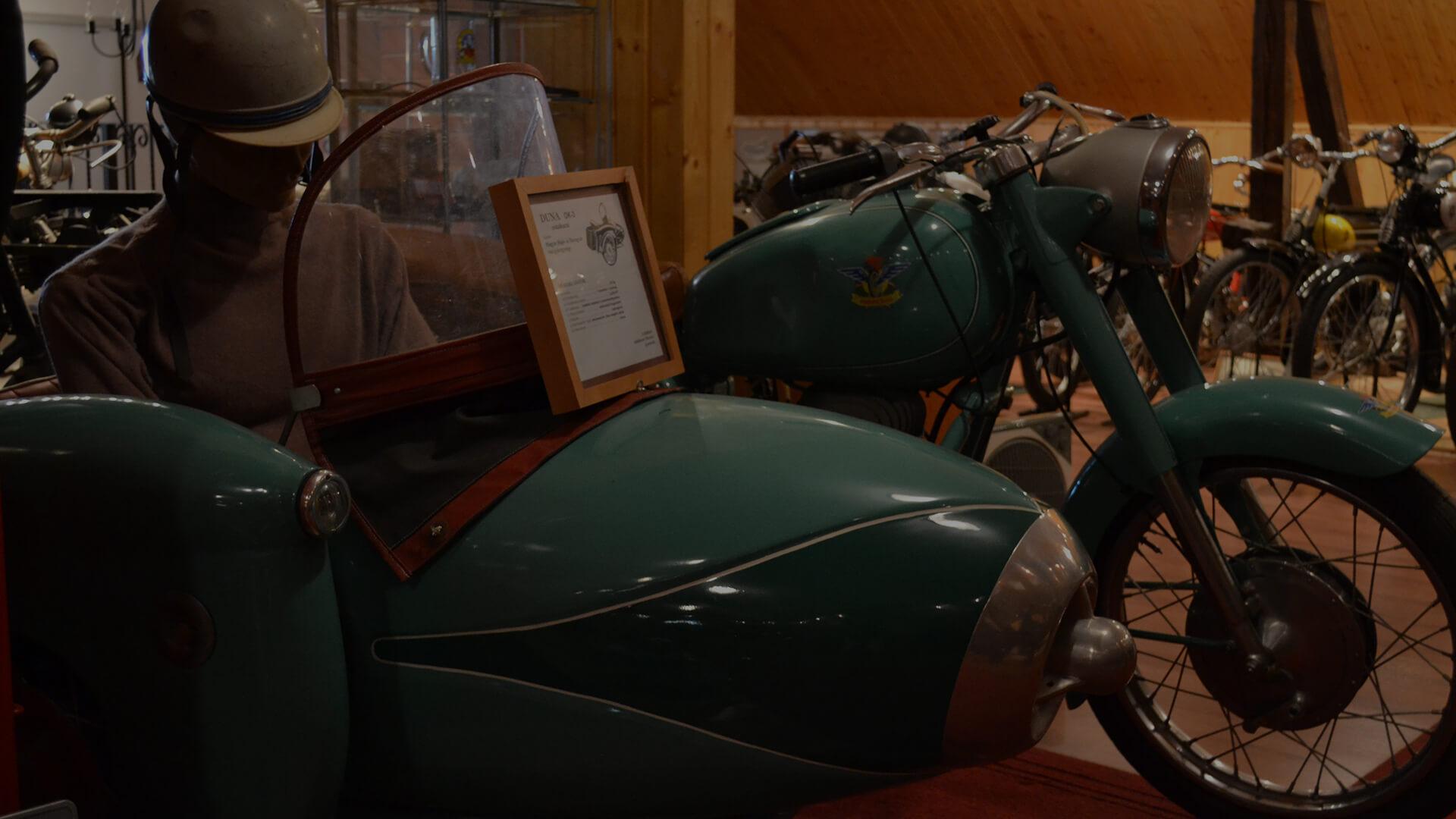 DUNA sidecar, 1964