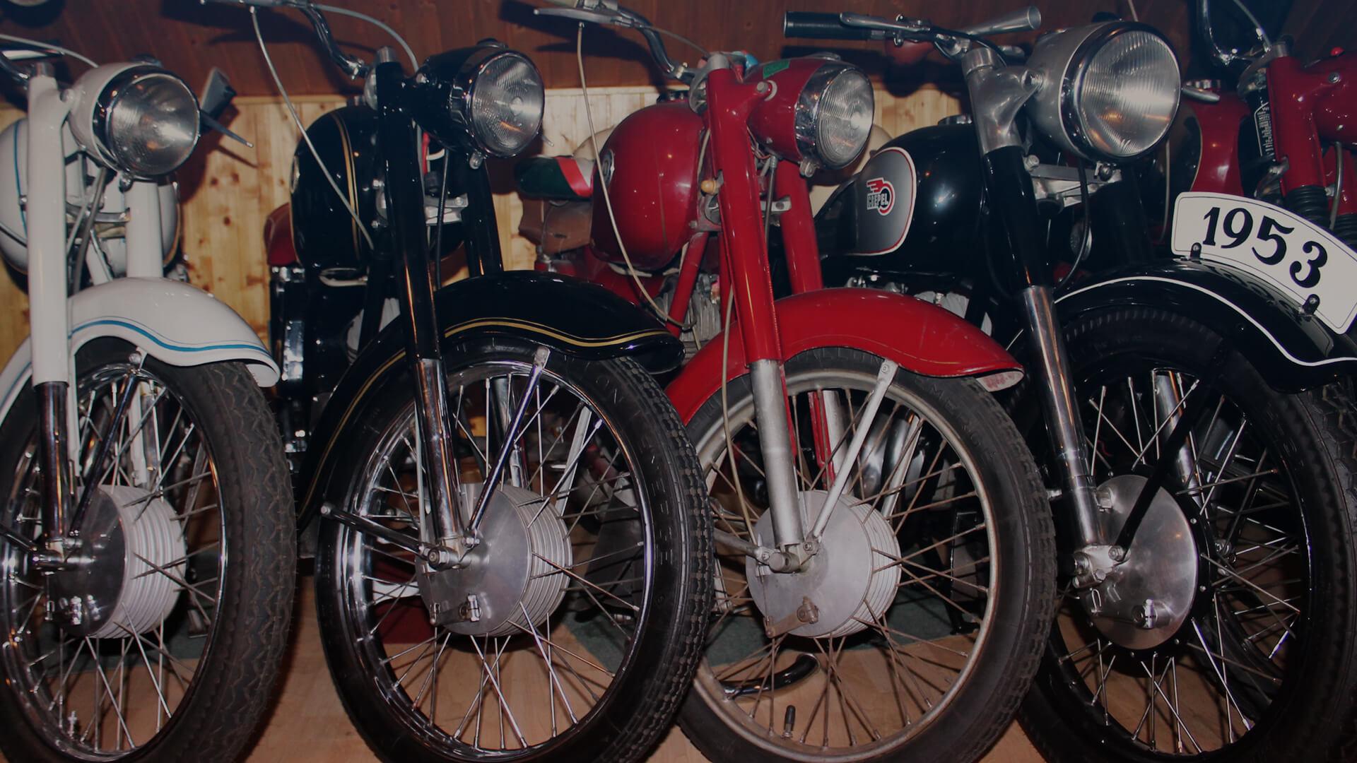 A motorkerékpár-gyűjtemény