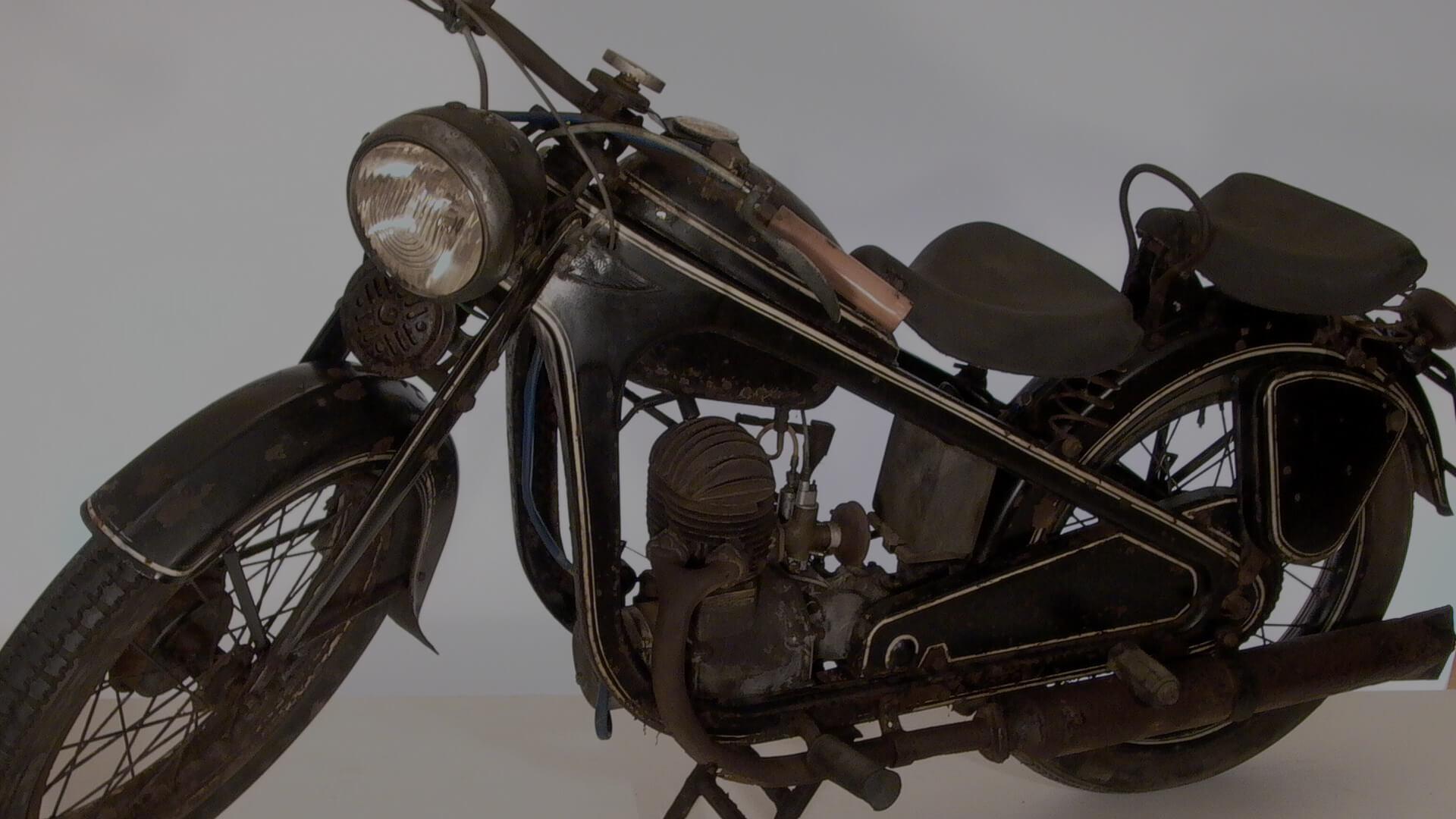 MÉRAY-PUCH 200, 198 cm³, 1940