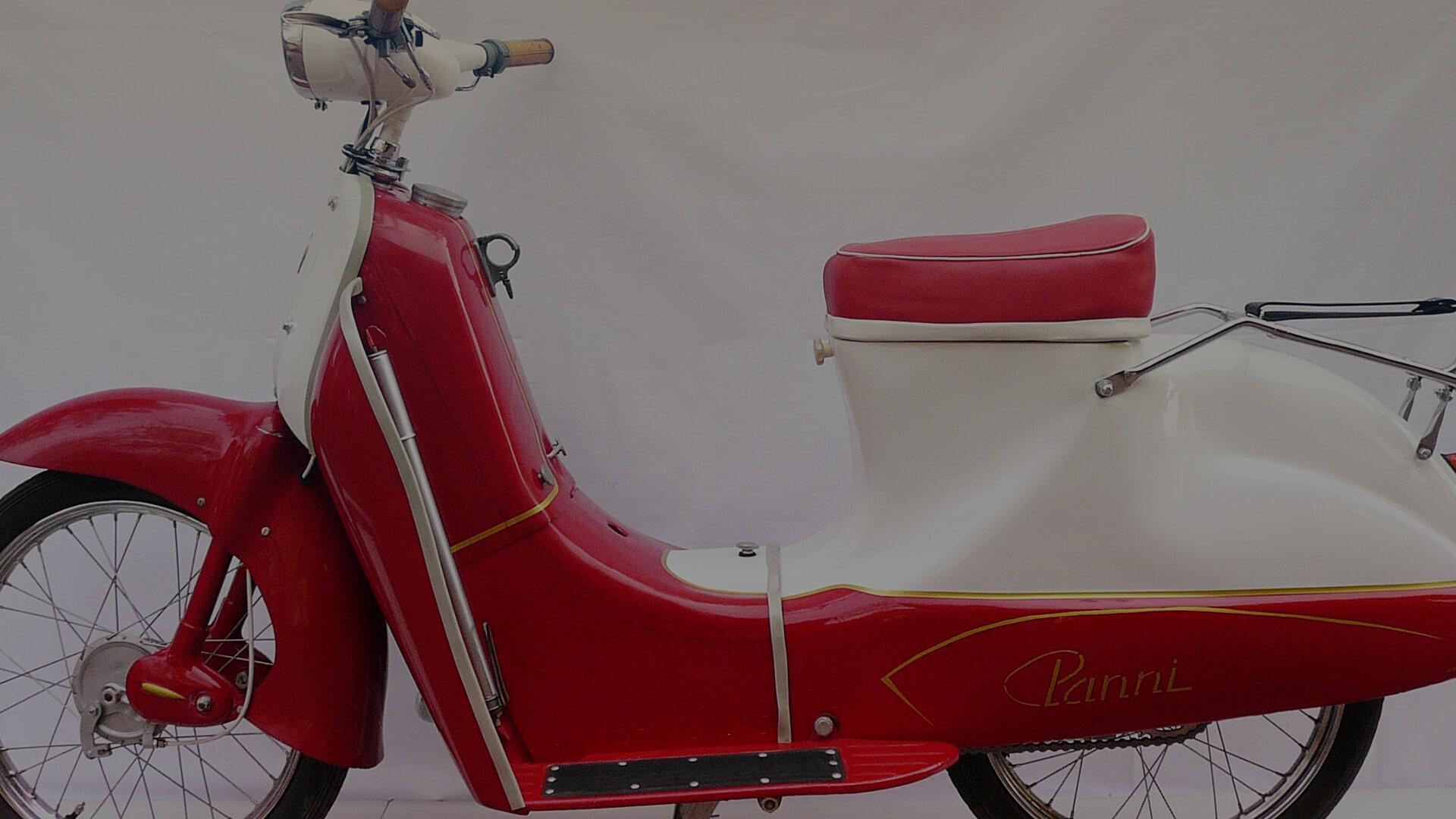 PANNI miniscooter, 49 cc, 1961