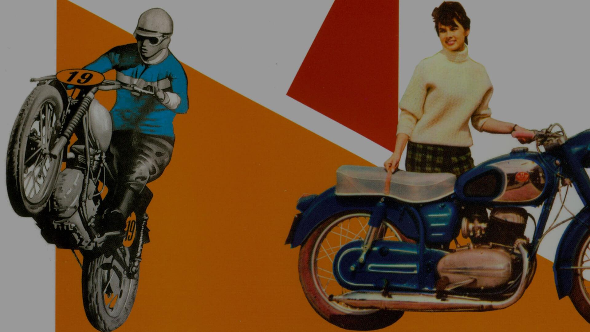 Motortörténeti plakát- és reklám vándorkiállítás