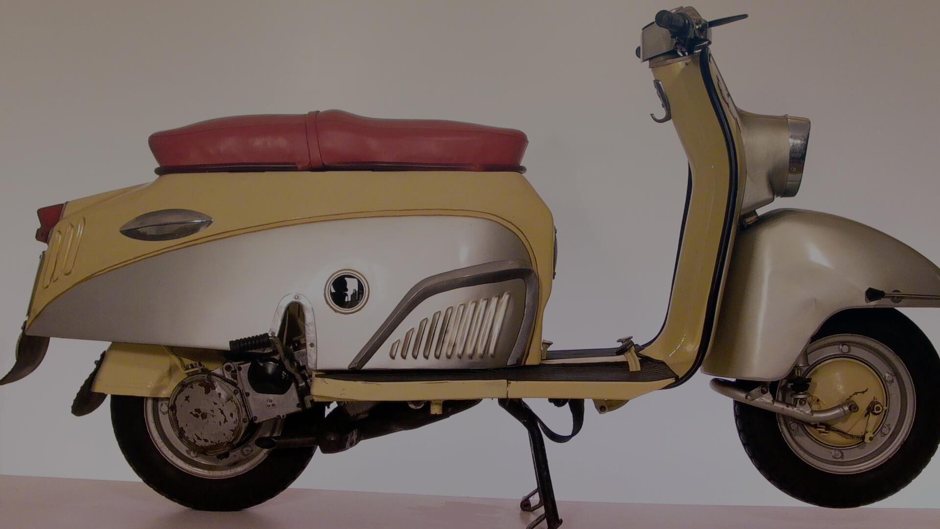 TÜNDE scooter, 174 cc, 1961