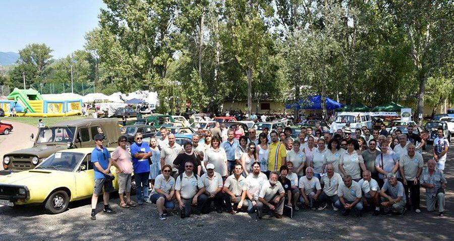 Veteránjármű találkozó Visontán