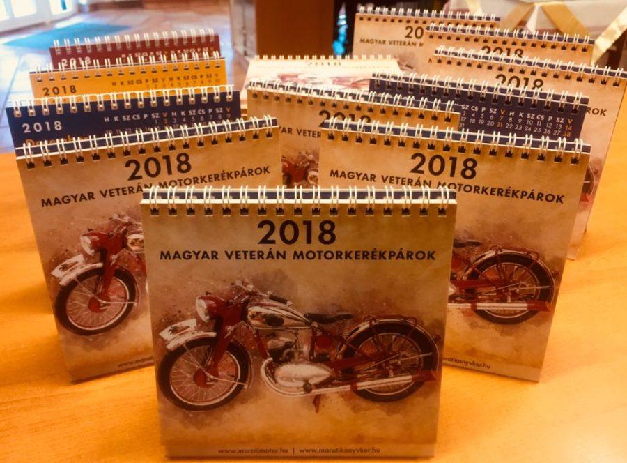 Kezdje az új évet új veterán motorkerékpáros naptárral