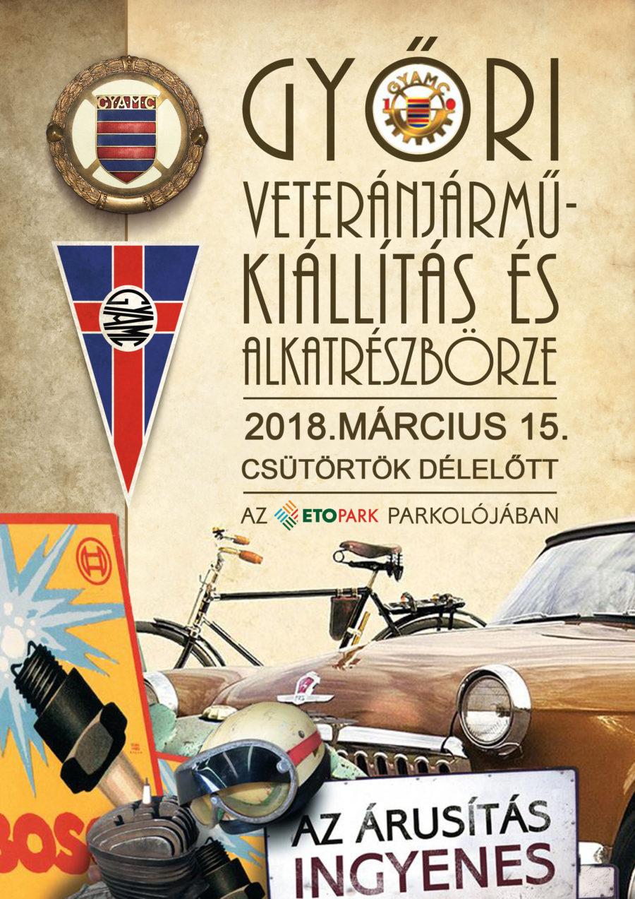 Győri Veteránjárműkiállítás és Alkatrészbörze