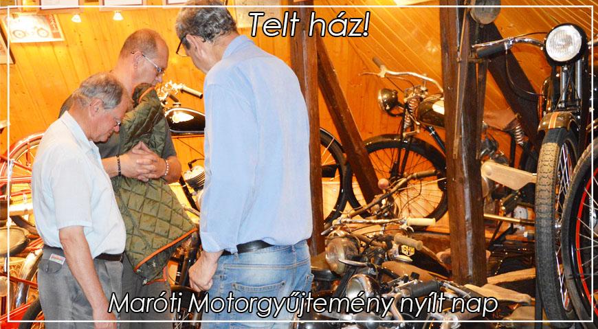 Motorgyűjtemény nyílt nap – Telt ház!