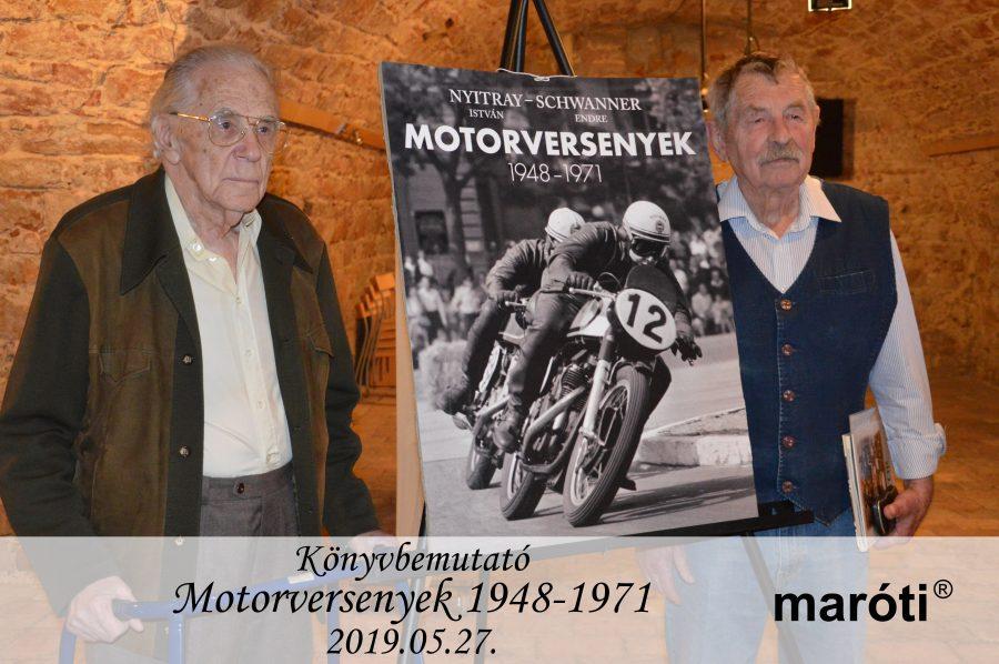 Nyitray István – Schwanner Endre: Motorversenyek 1948-1971